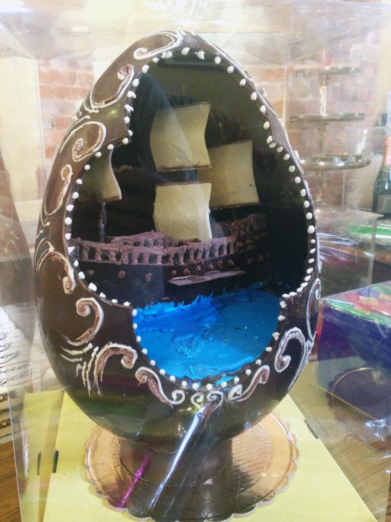 Uova di pasqua artigianali, Torronificio M. Geraci