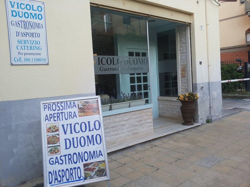 Vicolo Duomo, gastronomia d'asporto, Caltanissetta