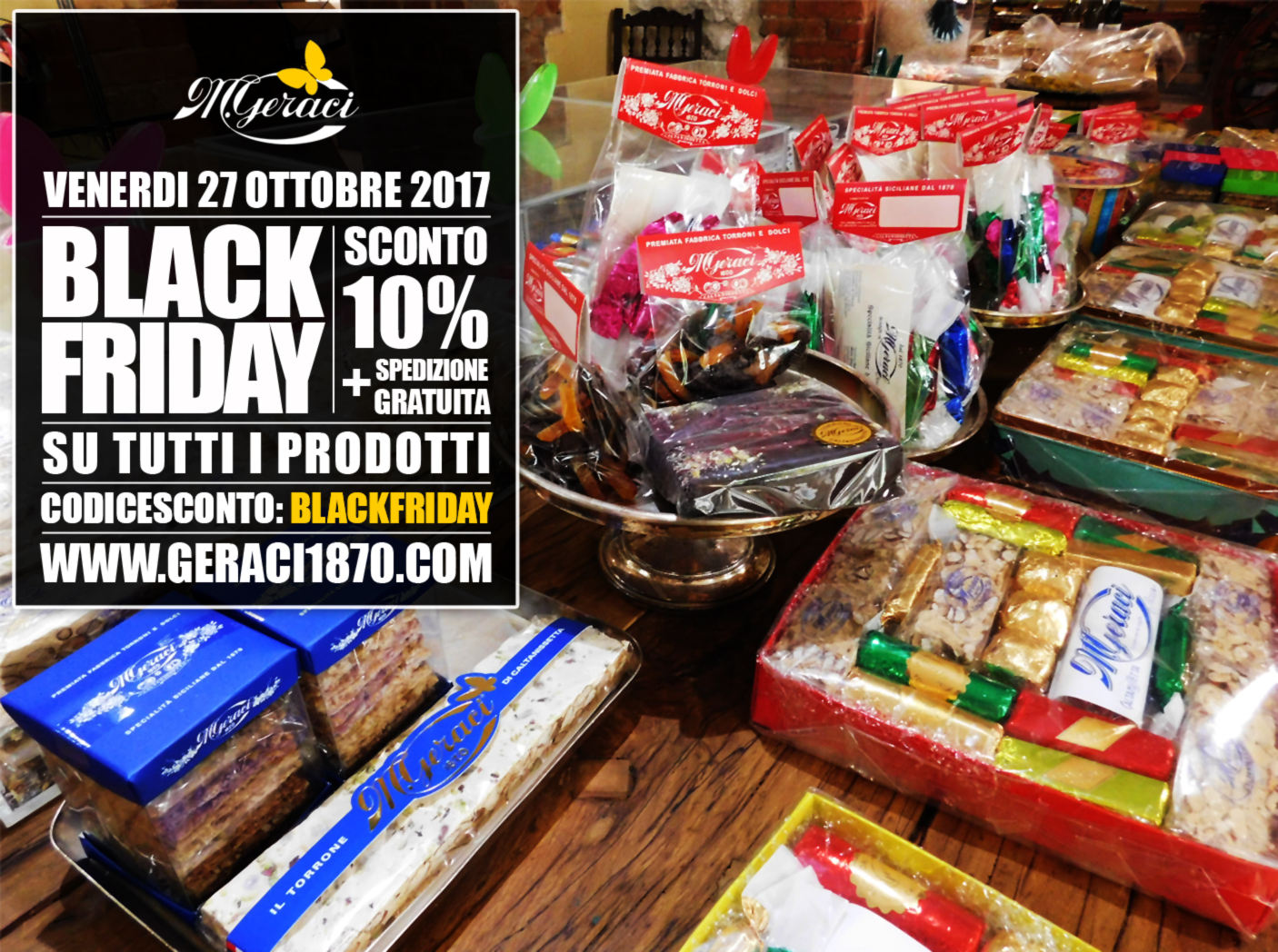 torronificio geraci - blackfriday 27 ott 2017